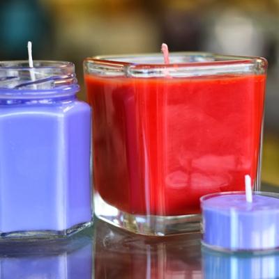 Atelier confection de bougies