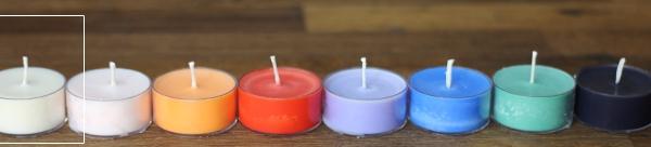 Colorant pour bougies ivoire
